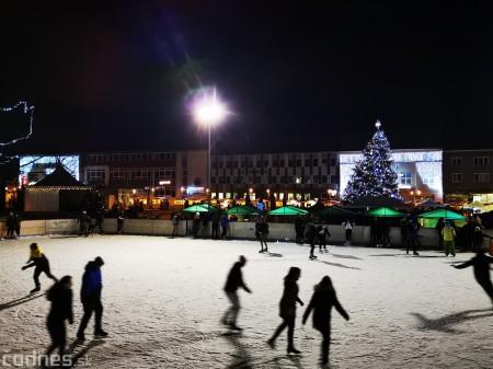 Ľadová plocha na námestí v Prievidzi - prevádzkové hodiny 12