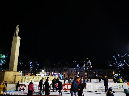Ľadová plocha na námestí v Prievidzi - prevádzkové hodiny 13