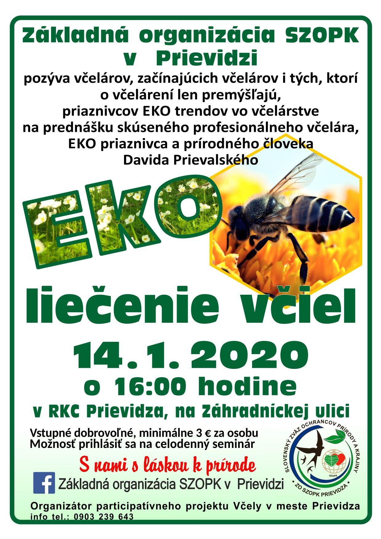 Eko liečenie včiel