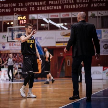 Foto: BC Prievidza - Inter Bratislava 67:83 67