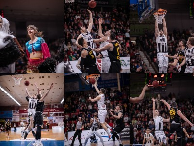 Foto: BC Prievidza - Inter Bratislava 67:83