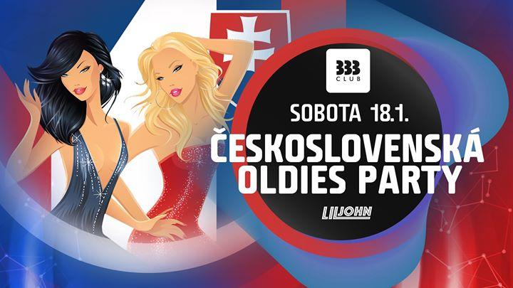 ☆ ČeskoSlovenská Oldies Party ☆ 18.1.