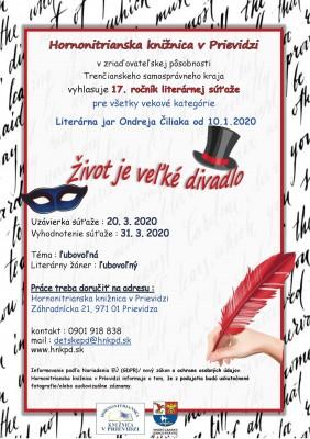 Literárna jar Ondreja Čiliaka - Život je veľké divadlo