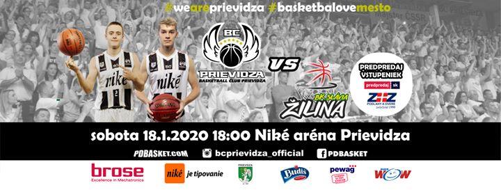 BC Prievidza - BK Slávia Žilina (24. kolo SBL)