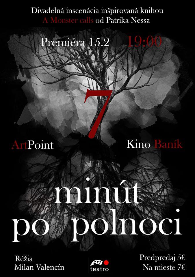 Premiéra - 7 minút po polnoci - Art point teatro