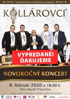 Kollárovci - Novoročný koncert