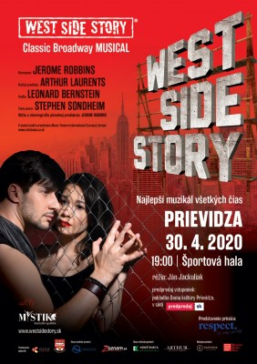 West Side Story - Prievidza – originál Broadway muzikál