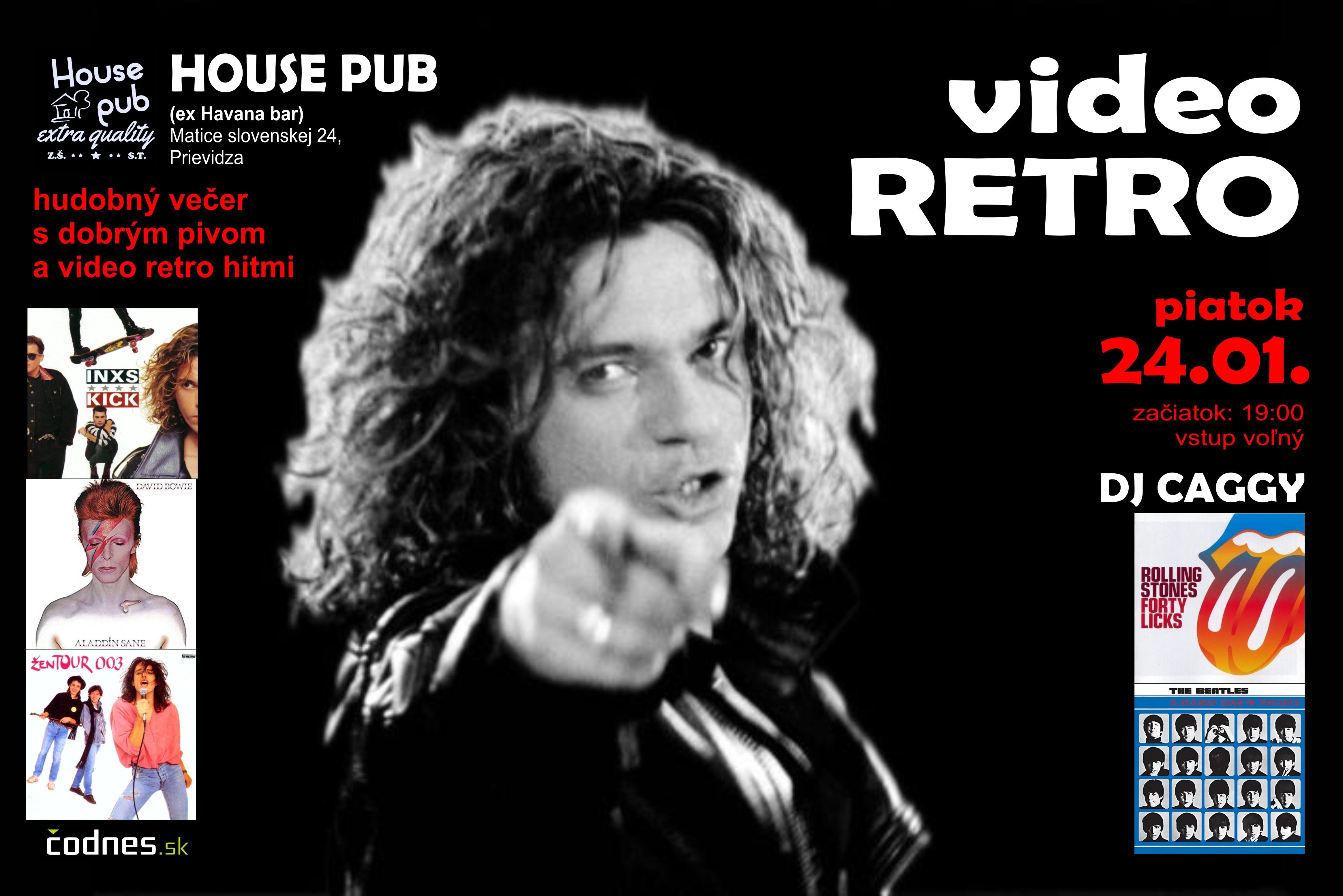 VIDEO RETRO (DJ Caggy/House Pub)