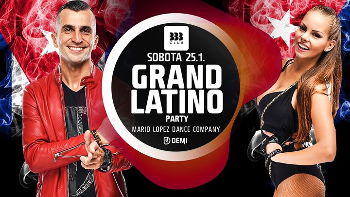 ★ Grand Latino Party ★ 25.1.
