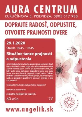 Rituálne tance prajnosti a odpustenia 29.1.2020