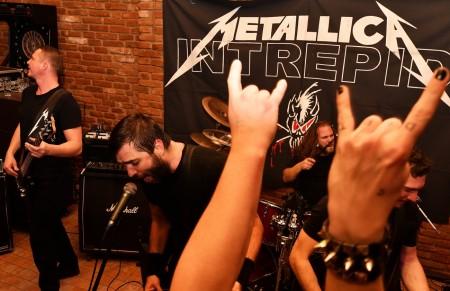Foto a video: Intrepid Metallica Revival - Prievidza 2020 - Piano club 34