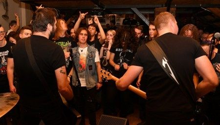 Foto a video: Intrepid Metallica Revival - Prievidza 2020 - Piano club 65