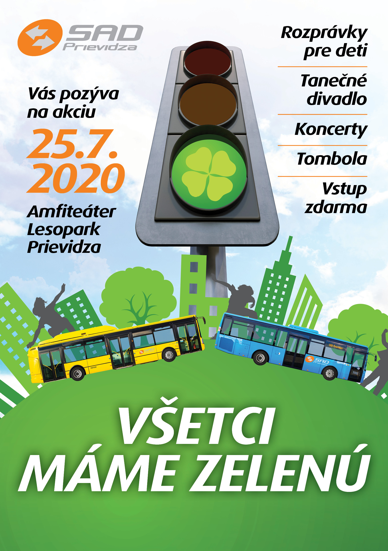 Zrušené - Všetci Máme Zelenú 2020