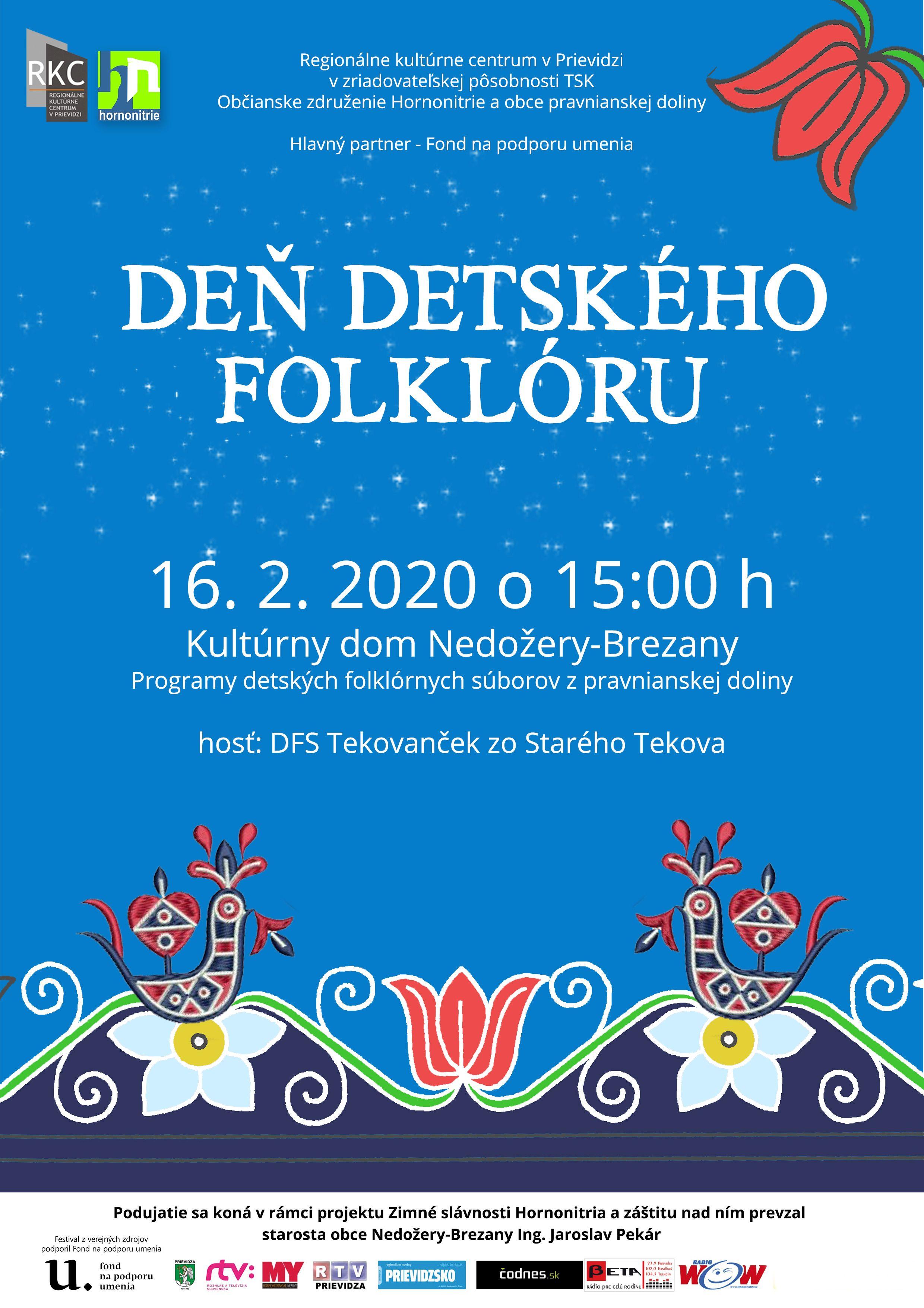 Deň detského folklóru 2020