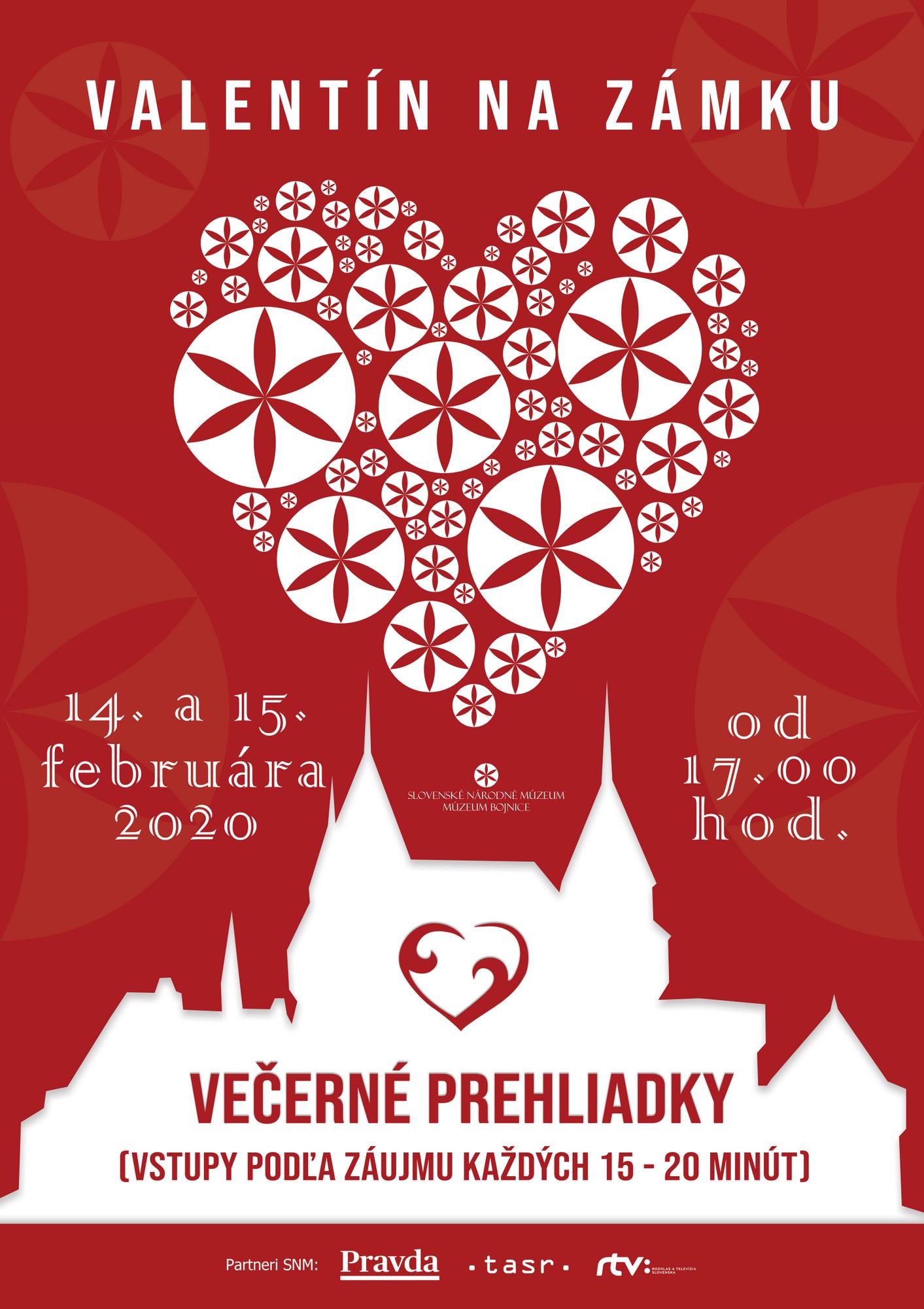 Romantický Valentín na romantickom Bojnickom zámku 2020