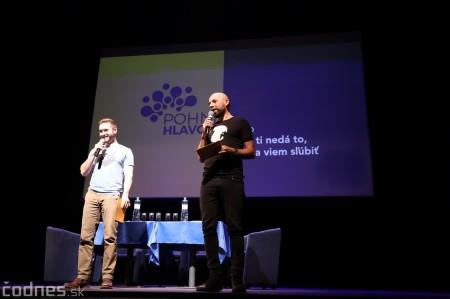 Foto: Stand-up diskusia Pohni hlavou - Prievidza 2
