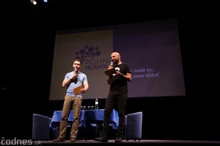 Foto: Stand-up diskusia Pohni hlavou - Prievidza 0