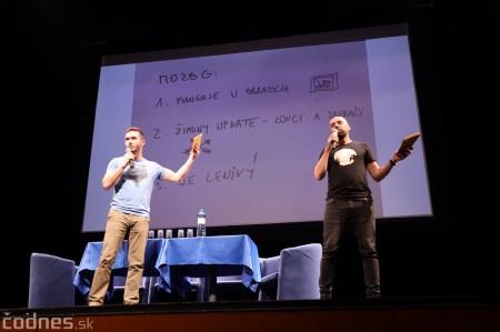 Foto: Stand-up diskusia Pohni hlavou - Prievidza 3