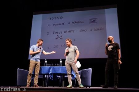 Foto: Stand-up diskusia Pohni hlavou - Prievidza 4