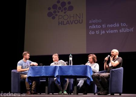 Foto: Stand-up diskusia Pohni hlavou - Prievidza 6
