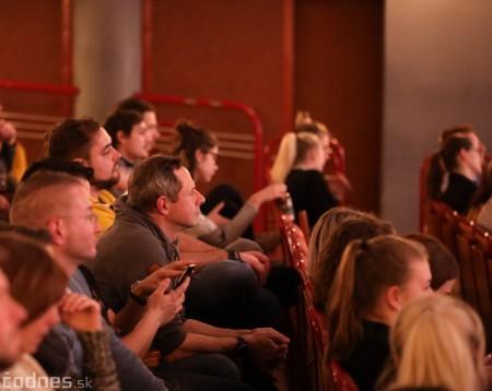 Foto: Stand-up diskusia Pohni hlavou - Prievidza 22