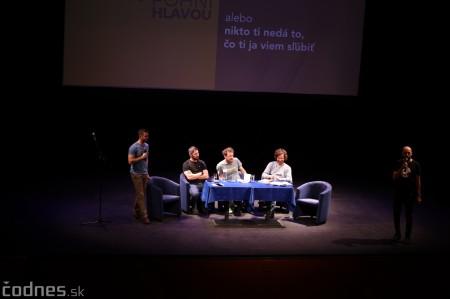 Foto: Stand-up diskusia Pohni hlavou - Prievidza 25