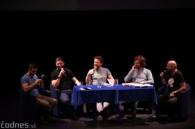 Foto: Stand-up diskusia Pohni hlavou - Prievidza