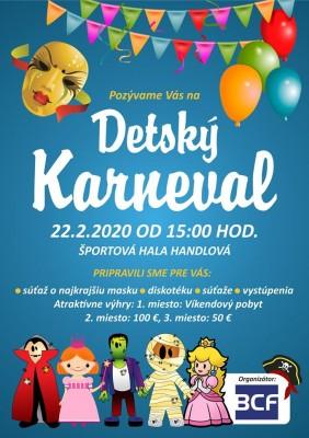 Detský karneval 2020 - Handlová