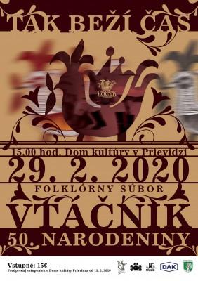 50. výročie FS Vtáčnik