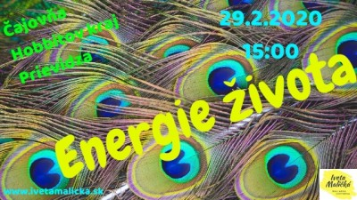 Workshop: ENERGIE ŽIVOTA