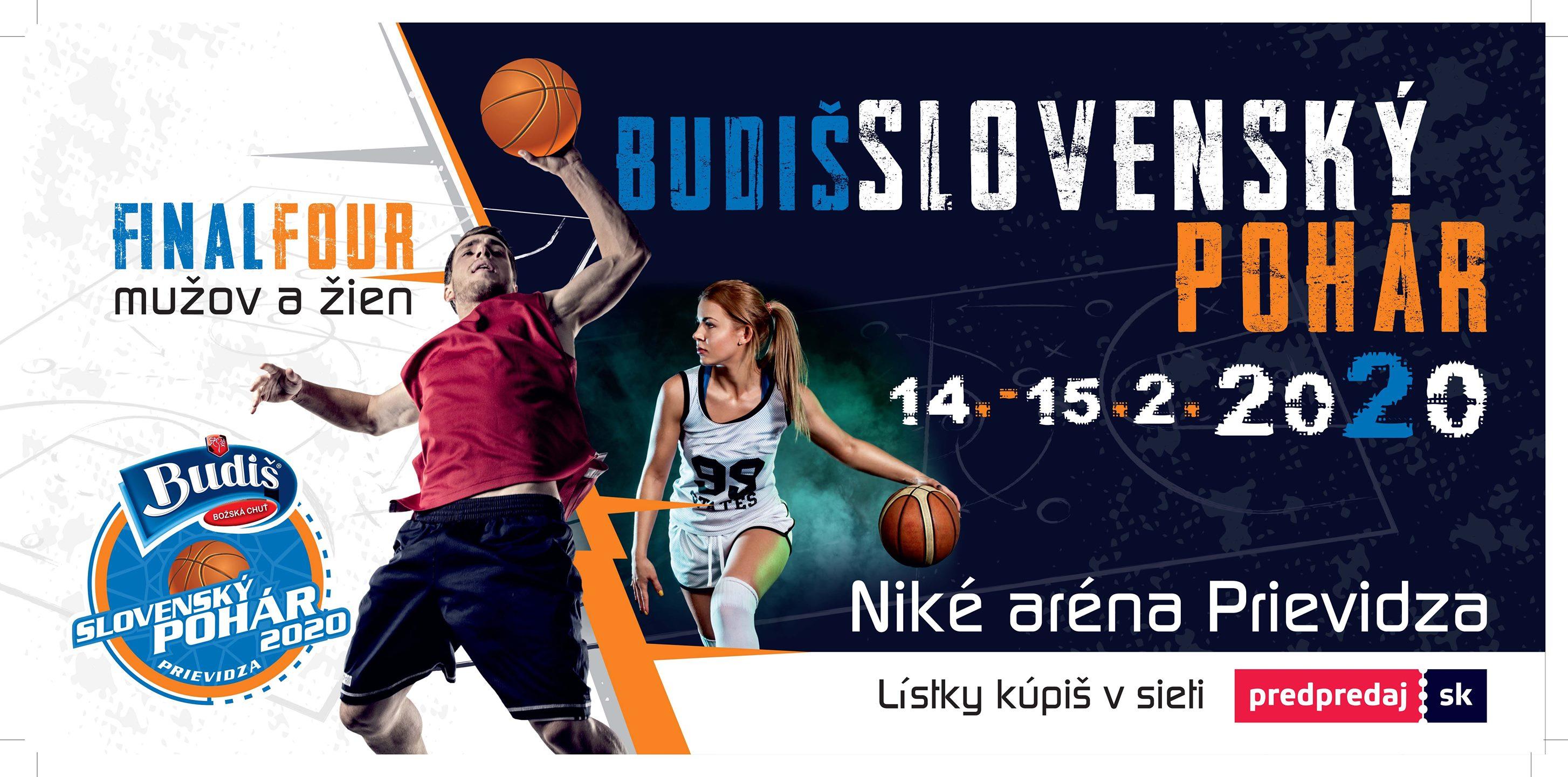 Basketbal-SBL: Final Four - Slovenský pohár 2019/2020