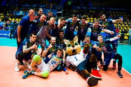 Foto: Volejbal SuperFinále 2020 - VK OSMOS Prievidza získala Slovenský pohár 45