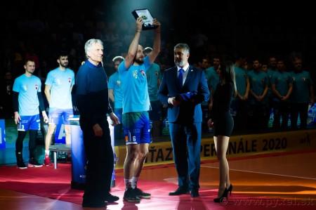 Foto: Volejbal SuperFinále 2020 - VK OSMOS Prievidza získala Slovenský pohár 53