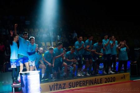 Foto: Volejbal SuperFinále 2020 - VK OSMOS Prievidza získala Slovenský pohár 55