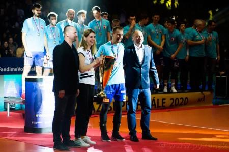 Foto: Volejbal SuperFinále 2020 - VK OSMOS Prievidza získala Slovenský pohár 56