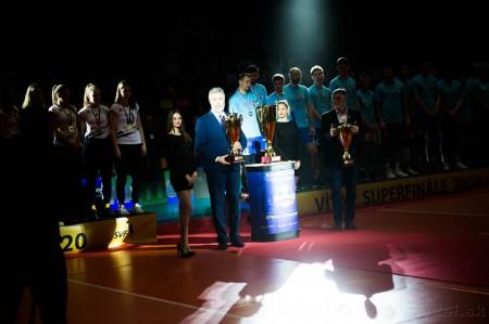 Foto: Volejbal SuperFinále 2020 - VK OSMOS Prievidza získala Slovenský pohár 58