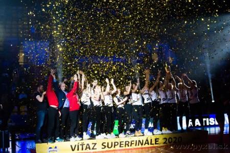 Foto: Volejbal SuperFinále 2020 - VK OSMOS Prievidza získala Slovenský pohár 61