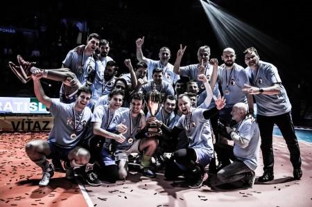 Foto: Volejbal SuperFinále 2020 - VK OSMOS Prievidza získala Slovenský pohár 65