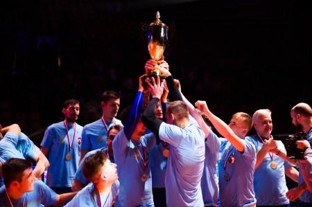 Foto: Volejbal SuperFinále 2020 - VK OSMOS Prievidza získala Slovenský pohár 67