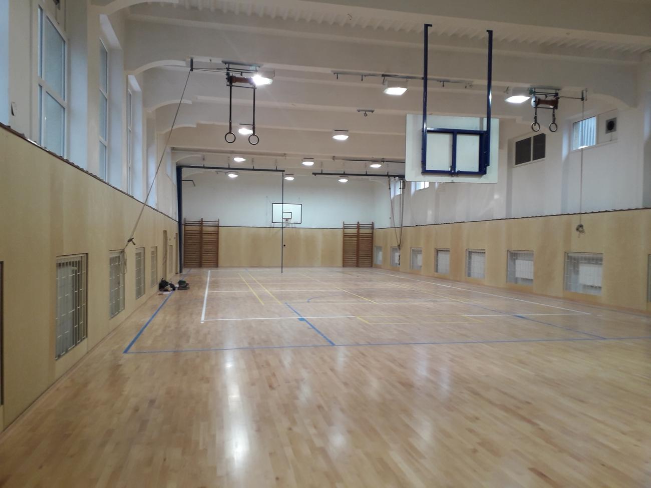 Mesto zrekonštruovalo ďalšiu školskú telocvičňu - V Základnej škole na Ul. S. Chalupku v Prievidzi