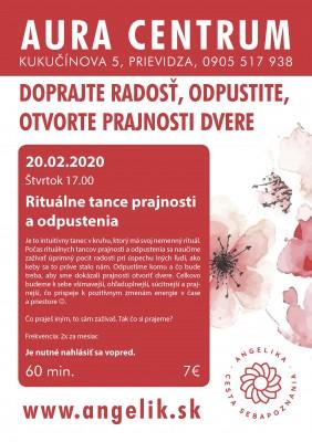 Rituálne tance prajnosti a odpustenia 20.2.2020