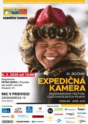 Expedičná kamera 2020