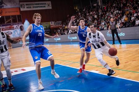 Foto: Final Four Budiš Slovenský pohár 2019/2020 - finále: BC Prievidza - BKM Lučenec 75:63 6
