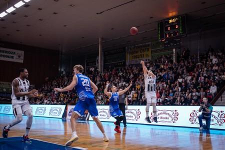 Foto: Final Four Budiš Slovenský pohár 2019/2020 - finále: BC Prievidza - BKM Lučenec 75:63 10