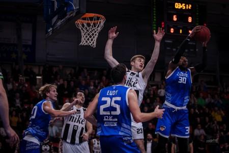 Foto: Final Four Budiš Slovenský pohár 2019/2020 - finále: BC Prievidza - BKM Lučenec 75:63 30