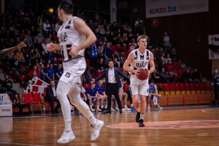 Foto: Final Four Budiš Slovenský pohár 2019/2020 - finále: BC Prievidza - BKM Lučenec 75:63 42