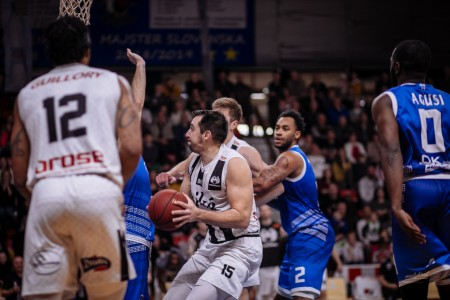 Foto: Final Four Budiš Slovenský pohár 2019/2020 - finále: BC Prievidza - BKM Lučenec 75:63 47