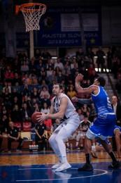 Foto: Final Four Budiš Slovenský pohár 2019/2020 - finále: BC Prievidza - BKM Lučenec 75:63 52