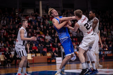 Foto: Final Four Budiš Slovenský pohár 2019/2020 - finále: BC Prievidza - BKM Lučenec 75:63 72