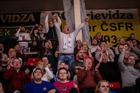 Foto: Final Four Budiš Slovenský pohár 2019/2020 - finále: BC Prievidza - BKM Lučenec 75:63 90